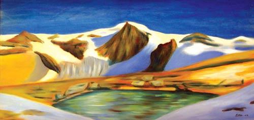 Abbraccio alpino